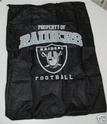 Oakland Raiders Laundry Bag Travel Sack Gift