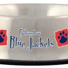 Columbus Blue Jackets 32oz Stainless Steel Pet Dog Food Water Bowl Gift