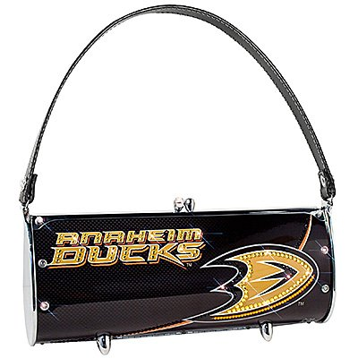 Anaheim Ducks Littlearth Fender Flair Purse Bag Swarovski Crystals Hockey Gift