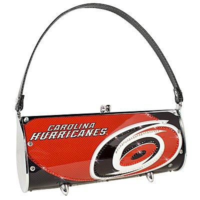 Carolina Hurricanes Littlearth Fender Flair Purse Bag Swarovski Crystals Hockey Gift