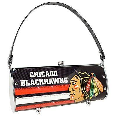 Chicago Blackhawks Littlearth Fender Flair Purse Bag Swarovski Crystals Hockey Gift