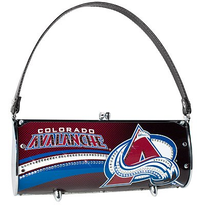 Colorado Avalanche Littlearth Fender Flair Purse Bag Swarovski Crystals Hockey Gift