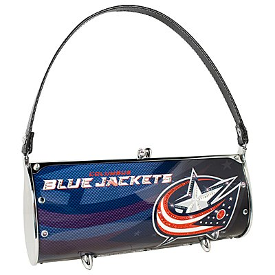 Columbus Blue Jackets Littlearth Fender Flair Purse Bag Swarovski Crystals Hockey Gift