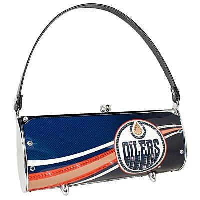 Edmonton Oilers Littlearth Fender Flair Purse Bag Swarovski Crystals Hockey Gift