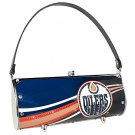 Edmonton Oilers Littlearth Fender Flair Purse Bag Swarovski Crystals Hockey Gift