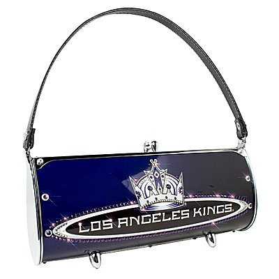 Los Angeles Kings Littlearth Fender Flair Purse Bag Swarovski Crystals Hockey Gift
