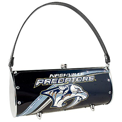 Nashville Predators LIttlearth Fender Flair Purse Bag Swarovski Crystals Hockey Gift