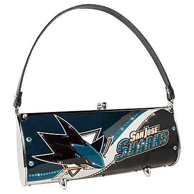 San Jose Sharks Littlearth Fender Flair Purse Bag Swarovski Crystals Hockey Gift
