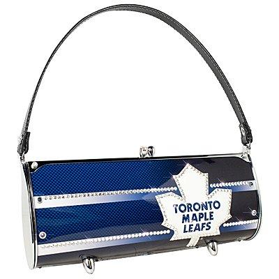 Toronto Maple Leafs Littlearth Fender Flair Purse Bag Swarovski Crystals Hockey Gift