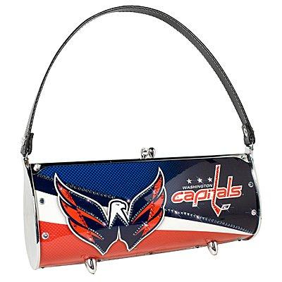 Washington Capitals Littlearth Fender Flair Purse Bag Swarovski Crystals