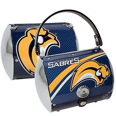 Buffalo Sabres Littlearth Super Cyclone Purse Bag Hockey Gift