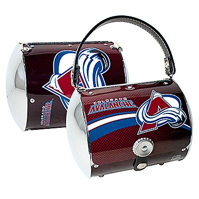 Colorado Avalanche Littlearth Super Cyclone Purse Bag Hockey Gift