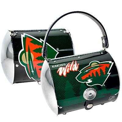 Minnesota Wild Littlearth Super Cyclone Purse Bag Hockey Gift