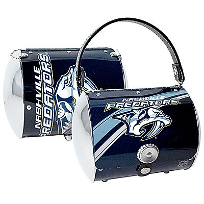Nashville Predators Littlearth Super Cyclone Purse Bag Hockey Gift