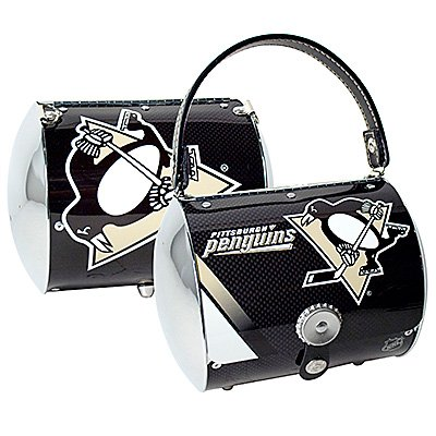 Pittsburgh Penguins Littlearth Super Cyclone Purse Bag Hockey