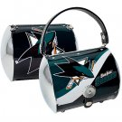 San Jose Sharks Littlearth Super Cyclone Purse Bag Hockey Gift