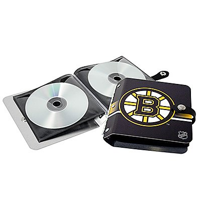 Boston Bruins Littlearth Rock-n-Road CD DVD Holder Gift