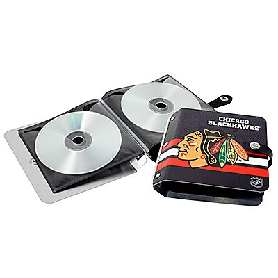 Chicago Blackhawks Littlearth Rock-n-Road CD DVD Holder Gift