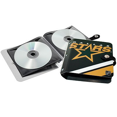 Dallas Stars Littlearth Rock-n-Road CD DVD Holder Gift