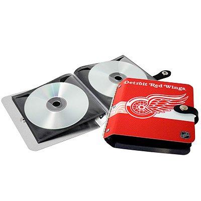 Detroit Red Wings Littlearth Rock-n-Road CD DVD Holder Gift