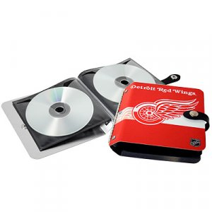 Detroit Red Wings Littlearth Rock-n-Road CD DVD Holder Gift