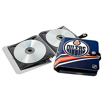 Edmonton Oilers Littlearth Rock-n-Road CD DVD Holder Gift