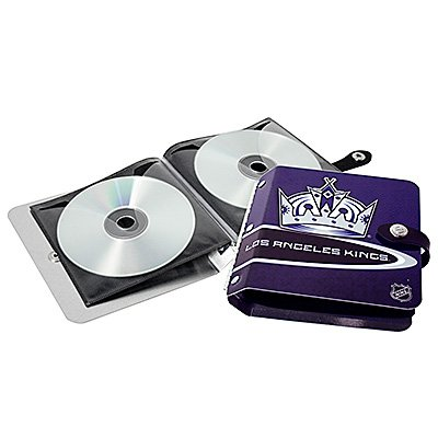 Los Angeles Kings Littlearth Rock-n-Road CD DVD Holder Gift