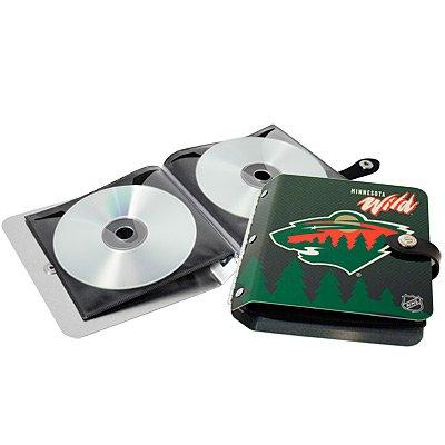 Minnesota Wild Littlearth Rock-n-Road CD DVD Holder Gift