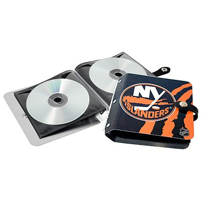 New York Islanders Littlearth Rock-n-Road CD DVD Holder Gift