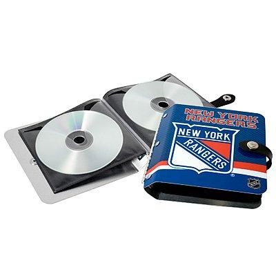 New York Rangers Littlearth Rock-n-Road CD DVD Holder Gift
