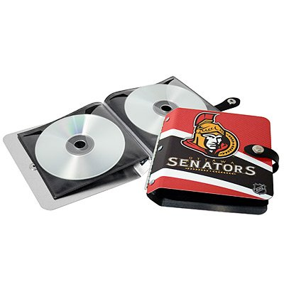 Ottawa Senators Littlearth Rock-n-Road CD DVD Holder Gift