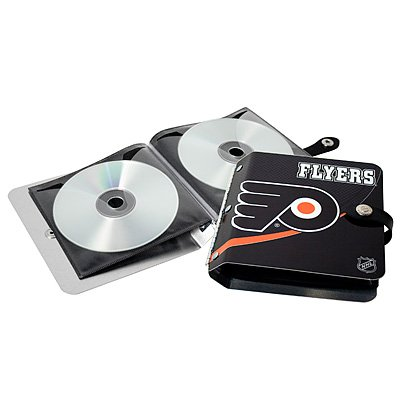Philadelphia Flyers Littlearth Rock-n-Road CD DVD Holder Gift