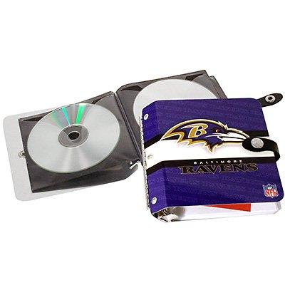 Baltimore Ravens Littlearth Rock-n-Road CD DVD Holder Case Gift