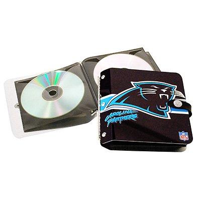 Carolina Panthers Littlearth Rock-n-Road CD DVD Holder Case Gift