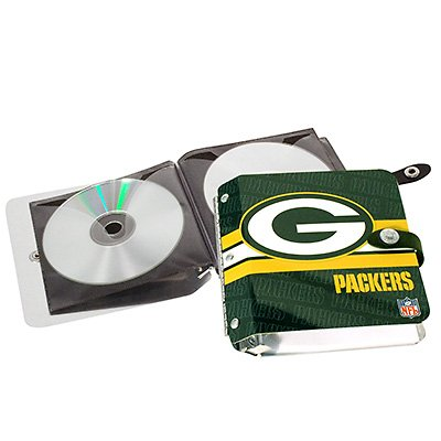 Green Bay Packers Littlearth Rock-n-Road CD DVD Holder Case
