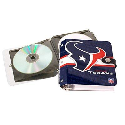 Houston Texans Littlearth Rock-n-Road CD DVD Holder Case GIft