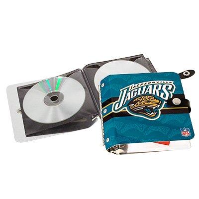 Jacksonville Jaguars Littlearth Rock-n-Road CD DVD Holder Case Gift