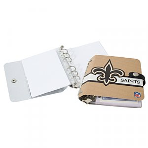 New Orleans Saints Littlearth Rock-n-Road CD DVD Holder Case Gift