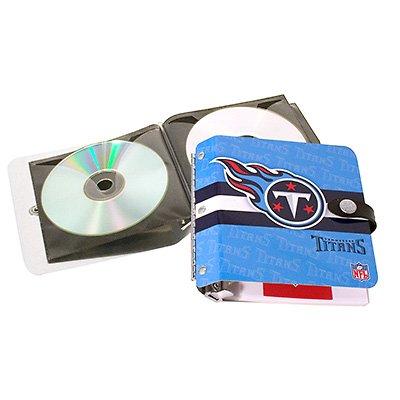 Tennessee Titans Littlearth Rock-n-Road CD DVD Holder Case Gift