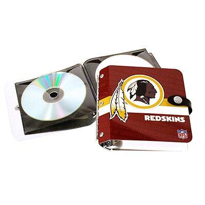 Washington Redskins Littlearth Rock-n-Road CD DVD Holder Case Gift