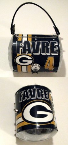 Brett Favre Green Bay Packers Littlearth Super Player Purse Bag Gift IN STOCK