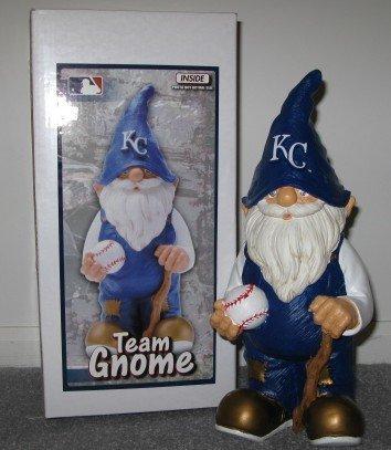 Kansas City Royals Baseball Garden Gnome Figure Indoor/Outdoor Gift