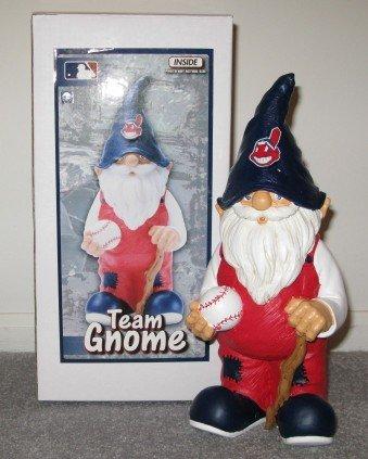 Cleveland Indians Baseball Garden Gnome Figure Indoor/Outdoor Gift