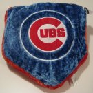 Chicago Cubs Baseball Home Plate Shaped Logo Pillow Super Soft