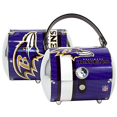 Baltimore Ravens Littlearth Super Cyclone Purse Bag Gift