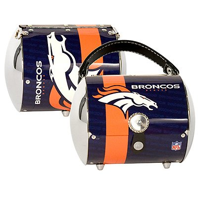 Denver Broncos Littlearth Super Cyclone Purse Bag Gift