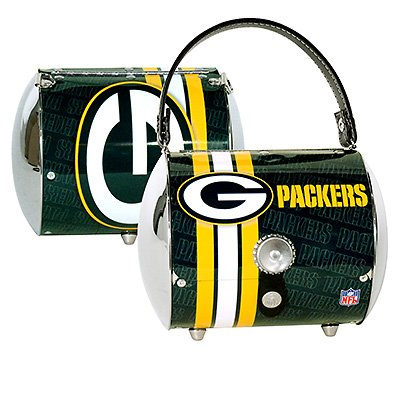 Green Bay Packers Littlearth Super Cyclone Purse Bag Gift