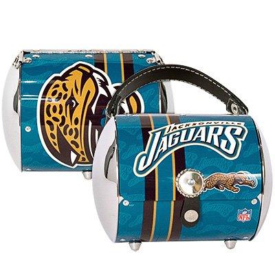 Jacksonville Jaguars Littlearth Super Cyclone Purse Bag Gift