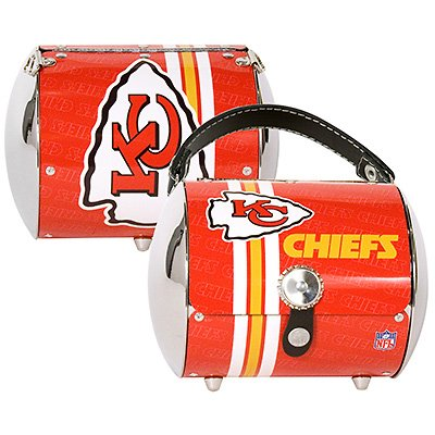 Kansas City Chiefs Littlearth Super Cyclone Purse Bag Gift