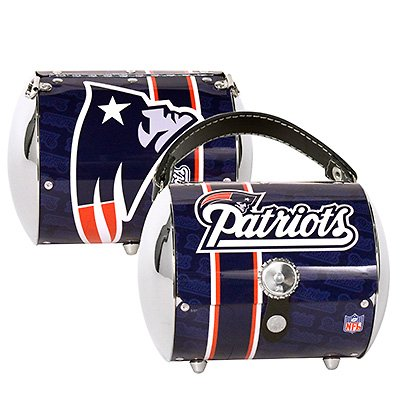 New England Patriots Littlearth Super Cyclone Purse Bag Gift